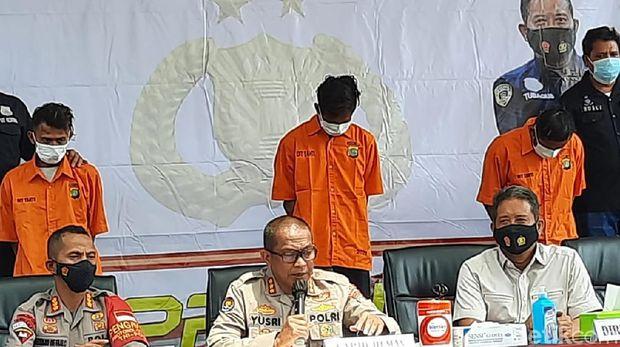 RIlis kasus penembakan ustaz di Tangerang oleh Polda Metro Jaya