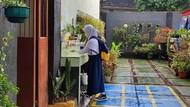 SMPN 5 Depok Simulasi PTM Terbatas, Siswa Diminta Bawa Hand Sanitizer-Kanebo