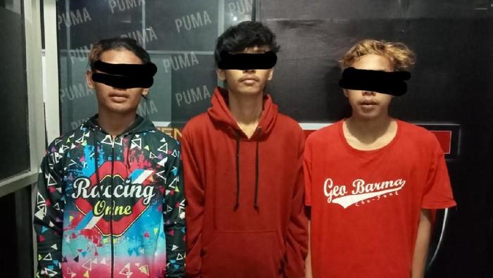 Tiga remaja pelaku pemerkosaan terhadap seorang gadis berusia 16 tahun di Lombok Tengah, NTB