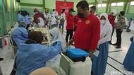 5.000 Dosis Vaksin Digelontorkan ke Sekolah di Sidoarjo Antisipasi Klaster PTM