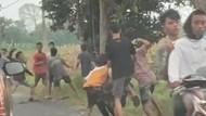 Viral Video Tawuran Pemuda di Jombang