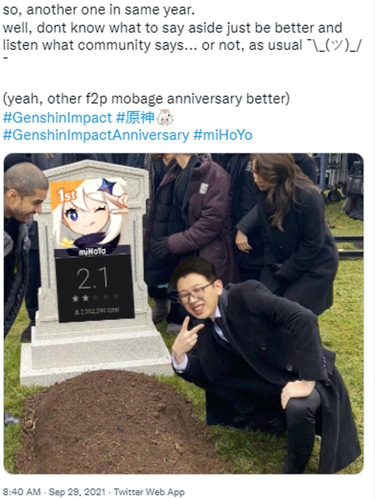 Fans Emosi, Genshin Impact Trending di Twitter