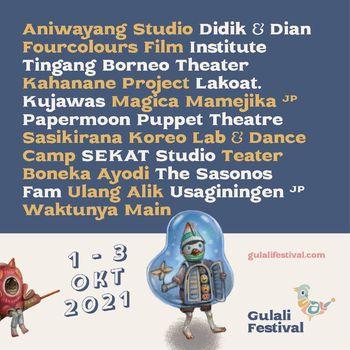 Gulali Festival 2021 Digelar 1-3 Oktober