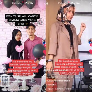Kisah pasangan viral di TikTok.