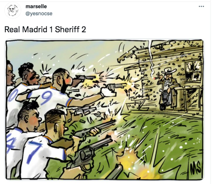 Meme Madrid Sheriff
