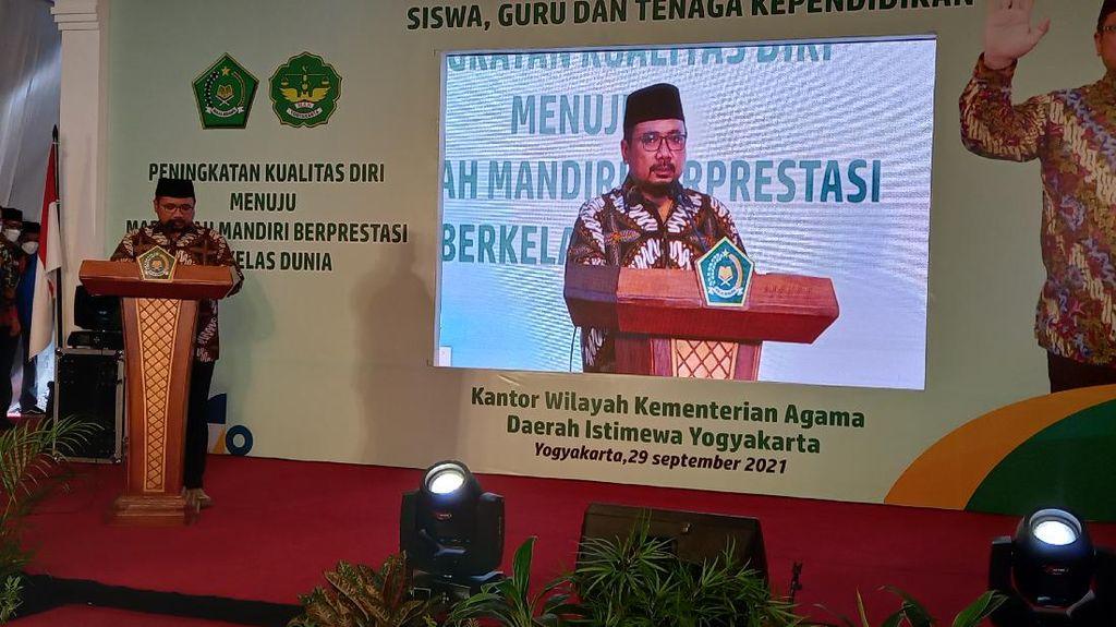 MAN 1 Yogyakarta Sarat Prestasi, Menag : Jadi Barometer Madrasah Aliyah