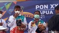 PON Papua: Akhirnya, Medali Pertama Panjat Tebing Dikalungkan
