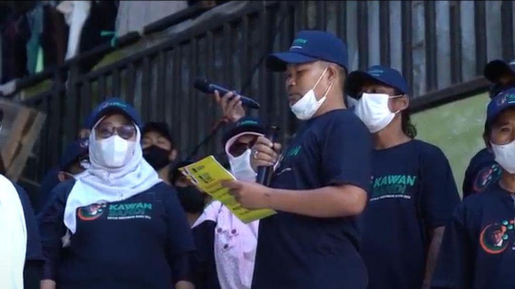 Musim Pergerakan Relawan, Kini Muncul Relawan Kawan Sandi dari Lombok