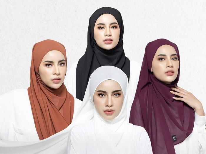Foto hijab pashmina.