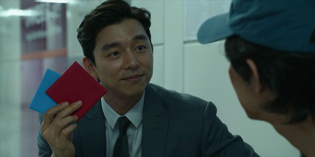 Gong Yoo dalam drama Korea Squid Game