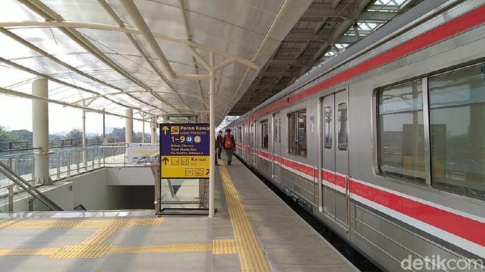 Jalur Layang Stasiun Manggarai