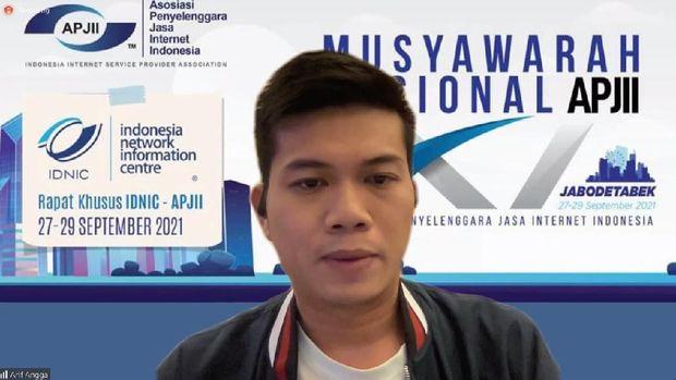 Muhammad Arif Angga, Ketua APJII 2021-2024