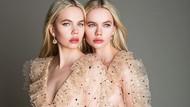 8 Foto Model Kembar yang Sering Diajak Bercinta Bersama Pria Hidung Belang