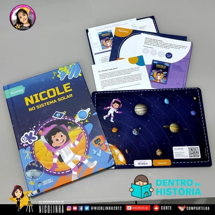 Nicolinha astronom termuda di dunia berusia 8 tahun.