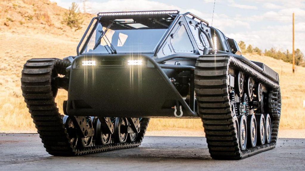Boleh Dibeli Warga Sipil, Tank Bekas Ini Dilepas Rp 6 Miliaran