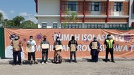 Potret Wisuda Terakhir 6 Orang, RS Darurat Bangkalan Kini Zero Pasien COVID