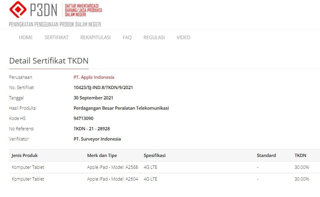 TKDN iPhone 13