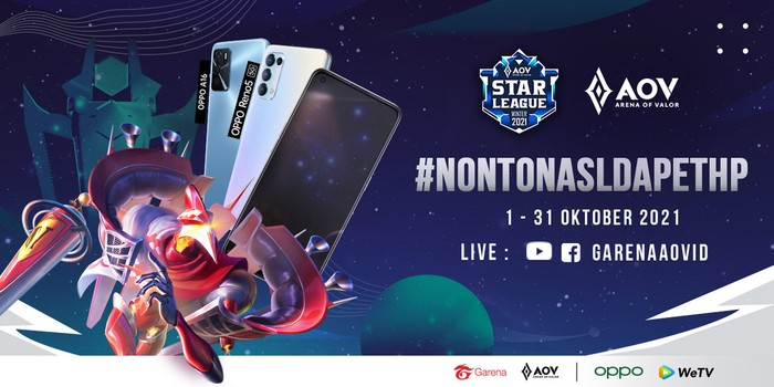Nonton Turnamen Arena of Valor Bisa Bawa Pulang Smartphone OPPO Lho!