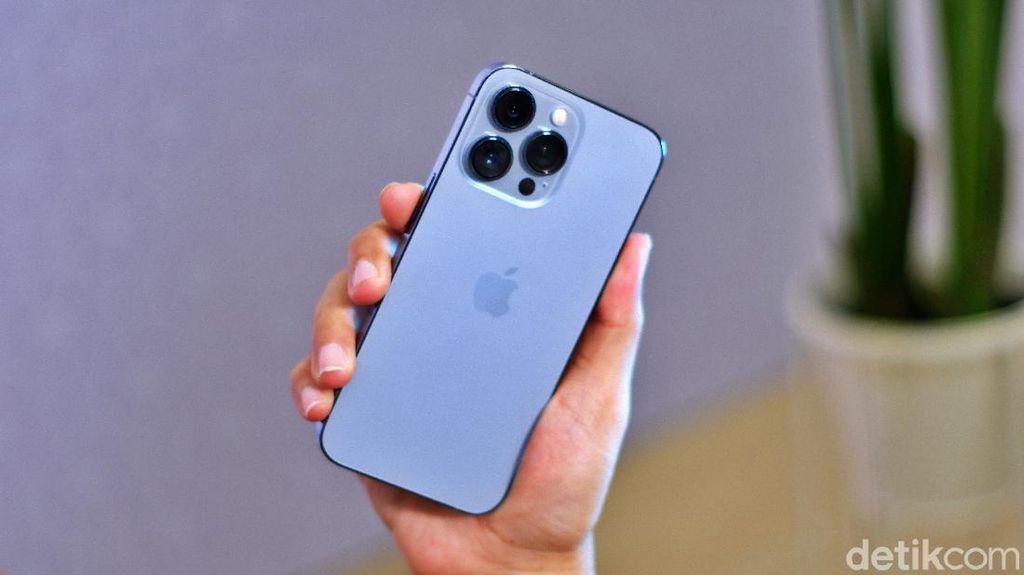 Duh Cantiknya iPhone 13 Pro Sierra Blue, Bikin Tergoda Memilikinya