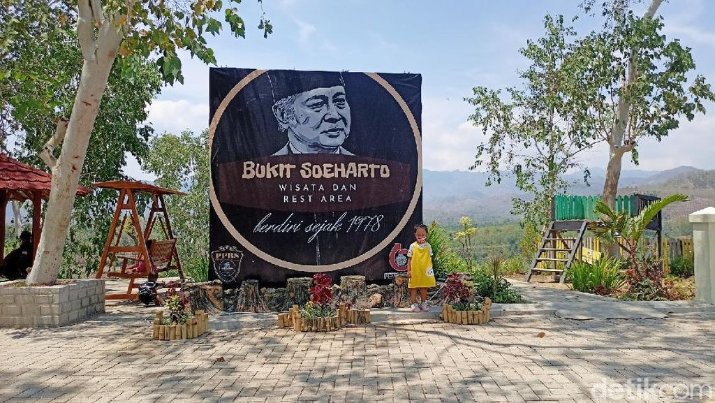 Mengunjungi Wisata Bukit Soeharto di Ponorogo