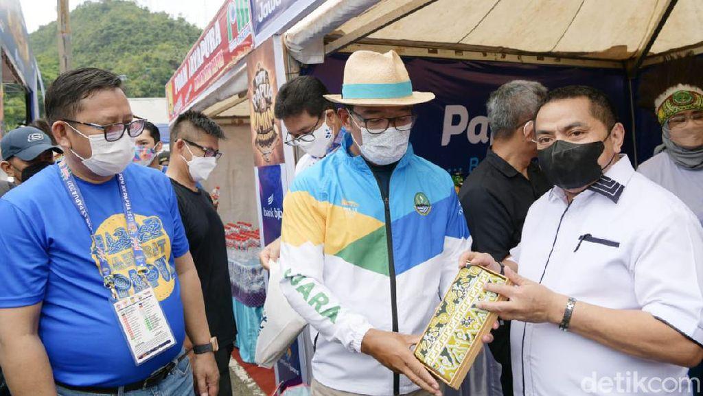 Jabar Pamerkan Produk UMKM di Festival PON Kopi Papua