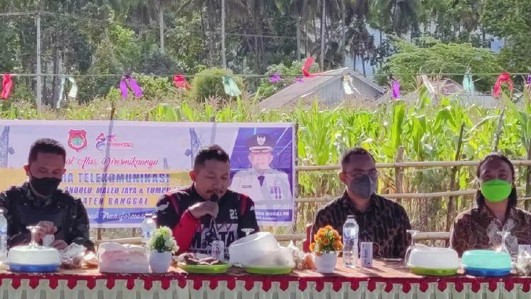 Indosat Ooredoo memperluas layanan 4G/LTE di 124 desa terpencil. Salah satunya di Desa Ondo-Ondolu, Kecamatan Batui, Kabupaten Banggai, Sulawesi Tengah.