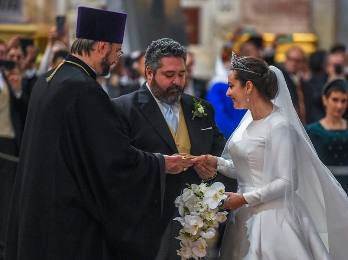 Royal Wedding Rusia. Foto: dok. AFP/OLGA MALTSEVA