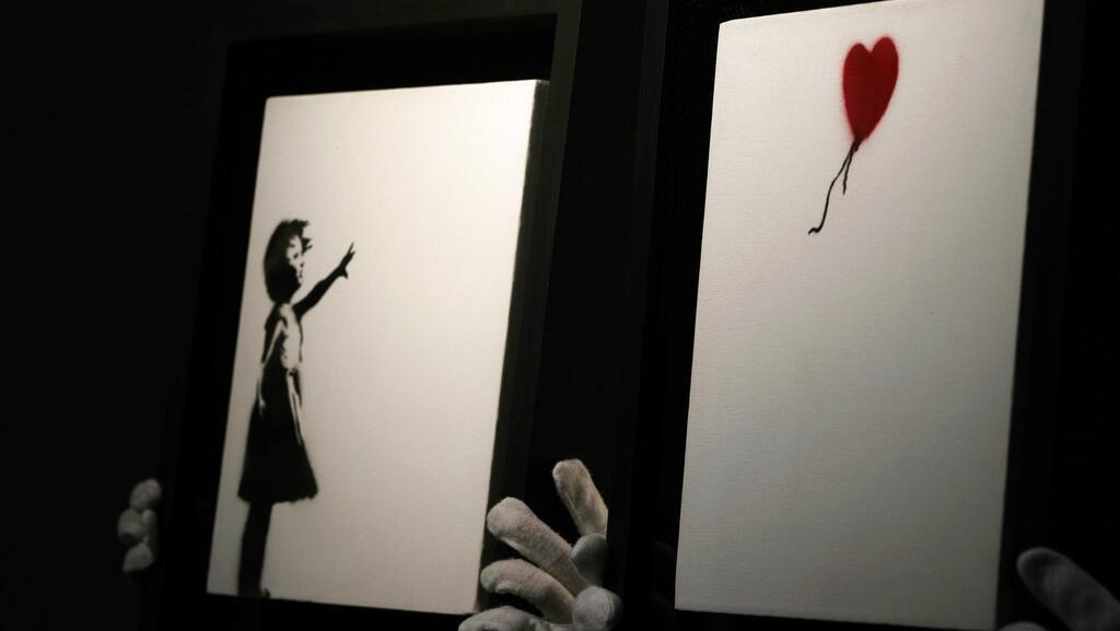Lukisan Fenomenal Banksy Girl and Balloon Dilelang Rp 67 Miliar