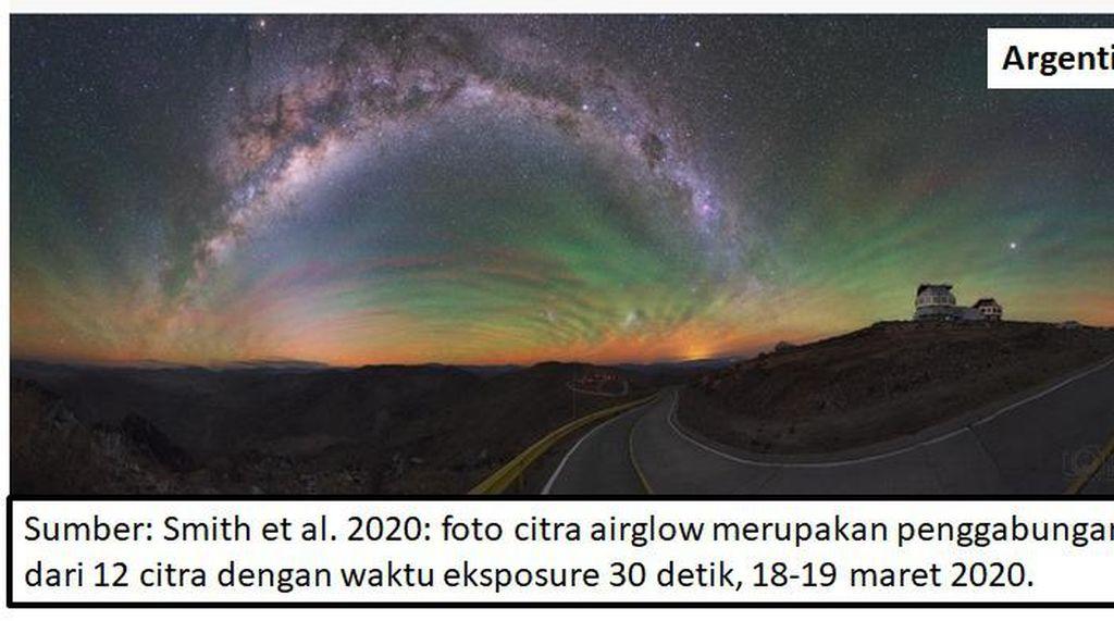 Ada Aurora di Langit Yogyakarta, Ini Penyebabnya
