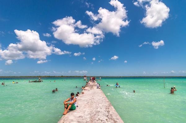Namun, adanya pandemi membuat danau ini pulih untuk sementara. (Getty Images)