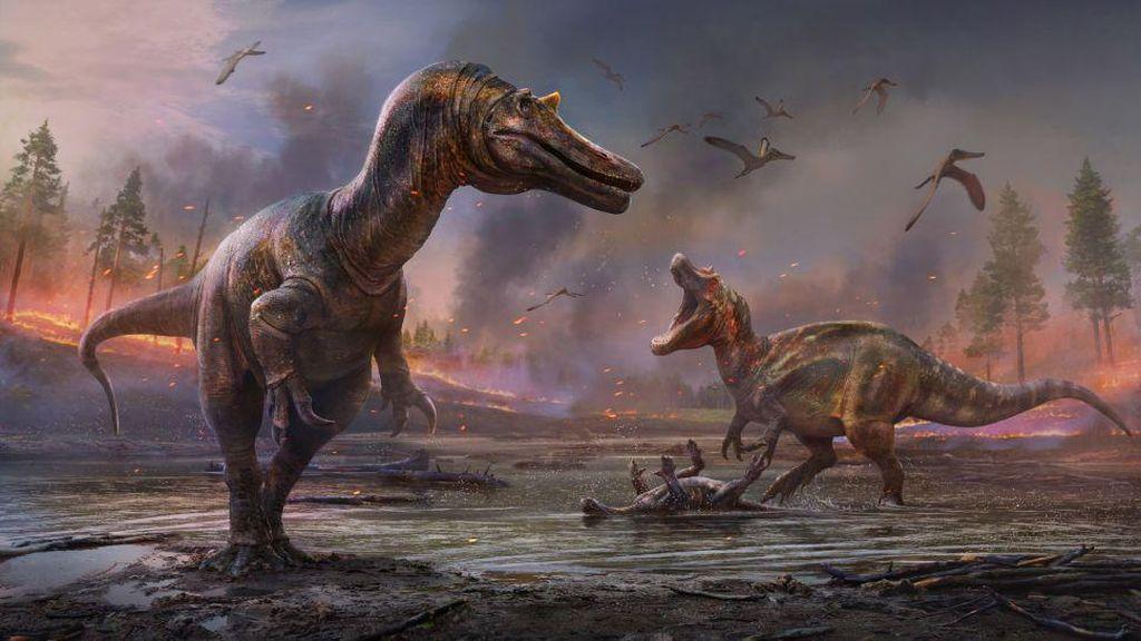 Dinosaurus Mengerikan Berwajah Buaya Ditemukan