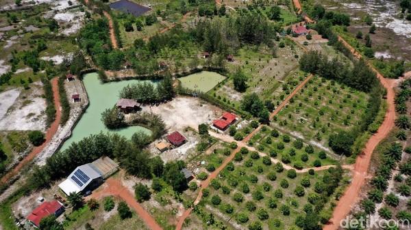 Tempat konservasi ini memiliki luas sekitar 36,6 hektar. Di dalamnya pun ada beberapa spot agro wisata, Pusat Penyelamatan Satwa (PPS) dan beberapa penyelamatan tanaman endemik.