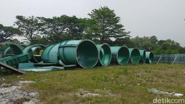 Hingga kini pemerintah DKI Jakarta masih belum mengizinkan waterpark untuk dibuka.(Tasya Khairally/detikcom)