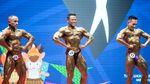Adu Kekar Atlet Binaraga di PON Papua