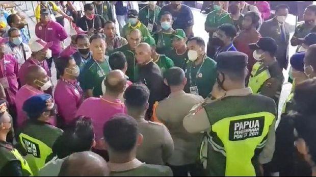 Kisruh di Binaraga PON Papua 2021