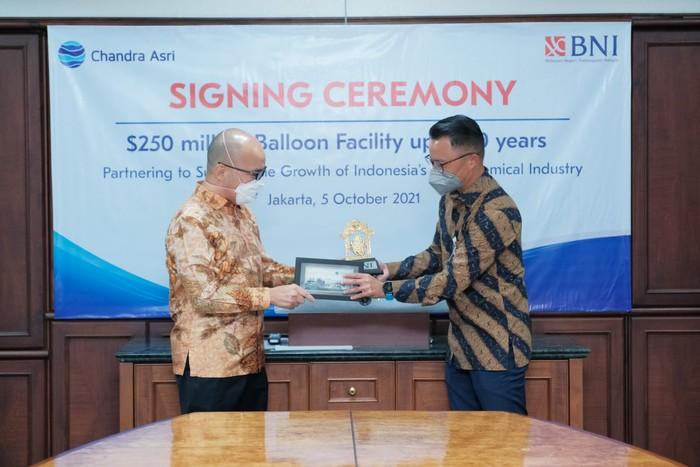 Chandra Asri Raih Fasilitas Balloon Payment USD 250 Juta dari BNI dengan Tenor Hingga 10 tahun Untuk Ekspansi dan Pertumbuhan Bisnis