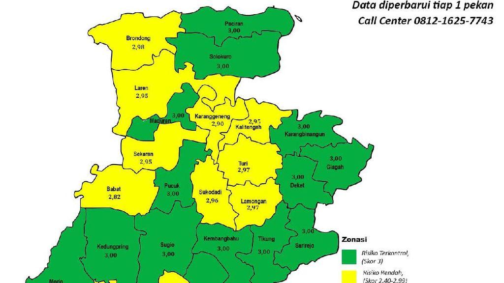 16 Kecamatan Zona Hijau, Pasien COVID-19 di RSUD Lamongan Tinggal Dua