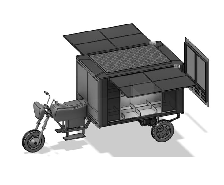 Desain Motor LIstrik Karya ITS