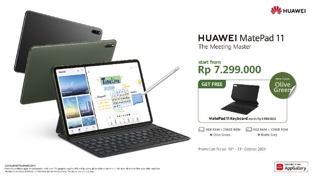 Huawei MatePad 11 versi baru