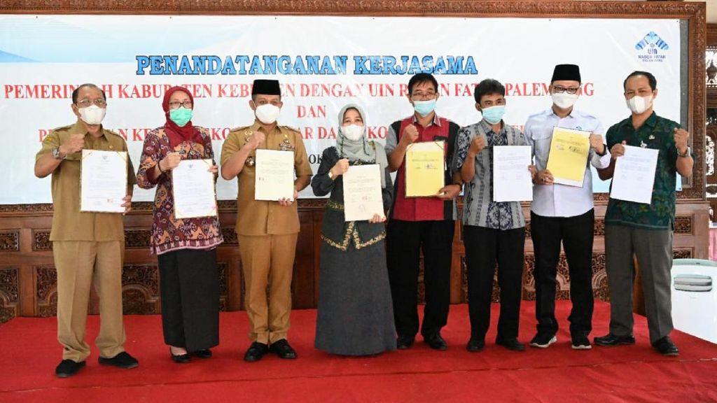 Penguatan SDM, UIN Raden Fatah Teken Kerja Sama dengan Pemkab Kebumen