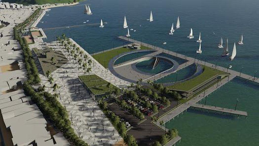 Proyek Kawasan Wisata Pantai Marina Ditarget Rampung Akhir 2021