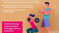Berbagai aturan PPKM mulai dilonggarkan, aktivitas di gym atau pusat-pusat kebugaran sudah diperbolehkan. Tapi tetap ada syarat-syaratnya lho.