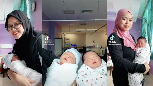Kisah viral bersahabat selama 8 tahun, dua wanita ini hamil dan lahiran bareng.