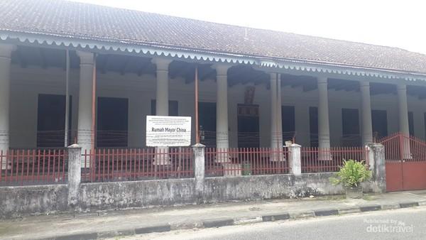 Rumah Mayor China yang bersejarah di Muntok
