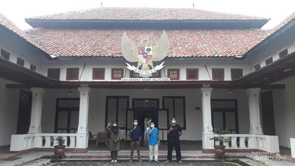 Wisma Ranggam tempat Bung Karno dan para pejuang kemerdekaan lain saat diasingkan di Pulau Bangka