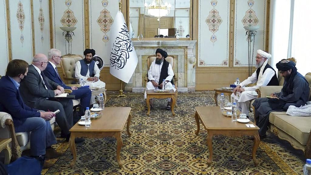 Picu Kemarahan! Pertemuan Delegasi Asing-Taliban Hanya Libatkan Pria
