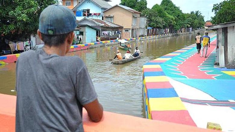Pedestrian Sudirman Palembang