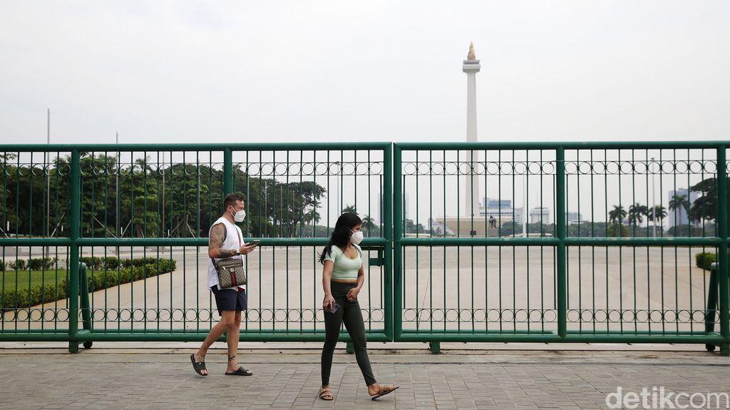 Gelaran Formula E batal digelar di Monas, Jakarta Pusat. Formula E batal digelar di Monas lantaran terkendala perizinan dari pemerintah pusat.