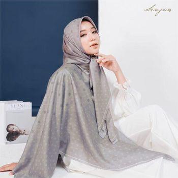 Hijab Monogram dari Senjascarf.id.