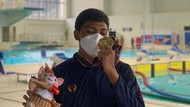 Berawal dari Terapi Asma, Perenang Bandung Raih 3 Medali PON Papua